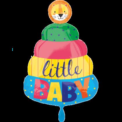 Ballons zur Geburt des Babys